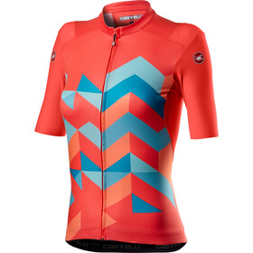 Castelli Unlimited Maillot Manches courtes Femme, brilliant pink